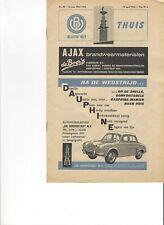 Blauw Wit v. DOS 1961-1962