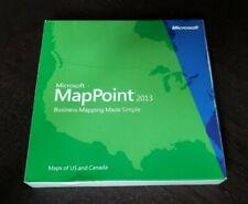 BRAND NEW Microsoft Mappoint 2013 b21-01421 Full Retail NIB