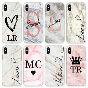 INITIALS CASE PERSONALISED FOR APPLE IPHONE 6S/7/8/X/XS/MAX/11 Pro cute
