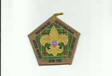 SCOUT BSA WOOD BADGE INDIANHEAD COUNCIL FOR 21ST CENTURY PATCH BADGE WOODBADGE !