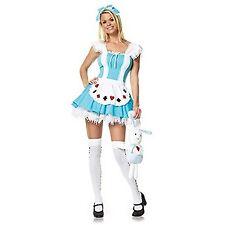 Leg Avenue Alice Girl Costume 83064 Blue/White Large