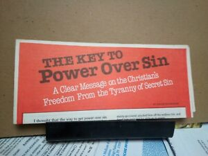 The Key to Power Over Sin David Wilkerson circa 1980
