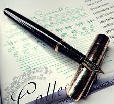 Dikawen Golden & Black Executive Collection Series  - Medium Nib Fountain Pen