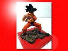 "GOKU ""DRAGON BALL"" JJ MODELS KIT RESINA FINEMENTE DIPINTO A MANO! PEZZO UNICO!"