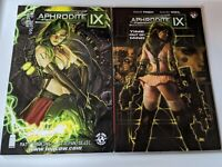 Aphrodite IX VOL 1 and Aphrodite IX REBIRTH Vol 1 Image Comics Top Cow FINCH