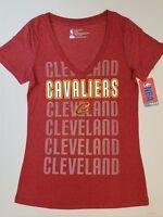 Cleveland Cavaliers Womens Short Sleeve Mesh Burnout T-Shirt   SZ Medium   NWT