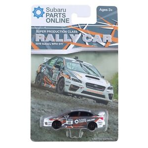 Official Genuine Subaru 2016 + WRX STi Rally 1/64 Die Cast Toy Car Impreza New +