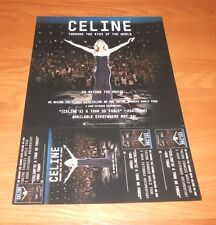 Celine Dion Taking Chances 2-Sided Flat 2010 Promo Poster 12x18 Rare