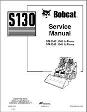 Bobcat S130 Skid Steer Loader Service Manual on a CD       ----    S 130