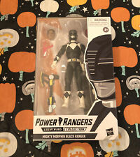 Power Rangers Lightning Collection Mighty Morphin Black Ranger 6� Action Figure