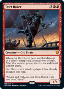 Port Razer x1 Magic the Gathering 1x Commander Legends mtg card