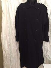 Searle Black Wool Coat