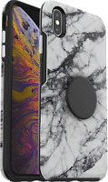 OtterBox Otter + Pop Symmetry Series Case for iPhone XS Max White Marble