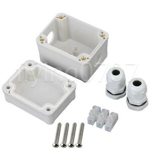 ABS Plastic Waterproof Electric Project Box Clear Project Outdoor