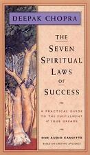 THE SEVEN SPIRITUAL LAWS OF SUCCESS - AUDIO BOOK 0N CASSETTE   - DEEPAK CHOPRA