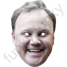 Justin Fletcher Children's TV Presenter Card Mask. All Our Masks Are Pre-Cut!