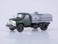 Scale model truck 1:43 ZIL-130 TLV-6 green/grey 1974