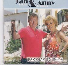 Jan Keizer&Anny Schilder-Take Me To Ibiza cd single sealed