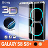 For Galaxy S8 S8 Plus Crazy 3D Full Coverage Tempered Glass Screen Protector