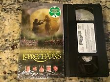 THE MAGICAL LEGEND OF THE LEPRECHAUNS RARE VHS IN SHRINK! 1999 MAGIC FANTASY OOP