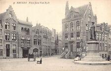 R178451 Bruges. Place Jean Van Eyck