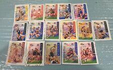 Australian 1996 Australia AFL set of 16 S/A stamps, used