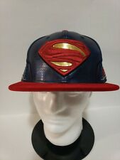 🔥🔥VERY RARE! New Era Justice League Superman Fitted HAT Velvet Brim 7 1/2 NEW!