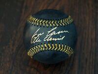 Jose Canseco Chemist Signed Autographed Black Baseball JSA COA Oakland A's Great