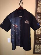 wear to Blizzcon 2017  Blizzard Employee Bowling Shirt WARLORDS OF DRAENOR -- XL
