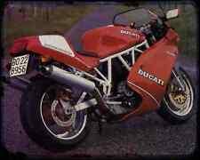 Ducati 900Sl 94 4 A4 Metal Sign Motorbike Vintage Aged
