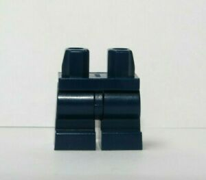 Lego 1 x Medium Legs Leg For Minifigure Figure  Dark Blue From  71044