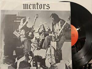 Mentors – Mentors EP 1982 Mystic Records – M12453 1st Press Rare VG+/VG+
