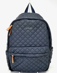 MZ Wallace Quilted Black Metro Backpack $245.00 #105SW