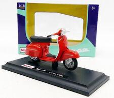 VESPA SCOOTER GTR 1968 1:18 Moto Models Miniature Die Cast Motorbike