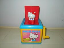 1983 VINTAGE SANRIO CHILD GUIDANCE HELLO KITTY JACK-IN-THE BOX TOY            K3