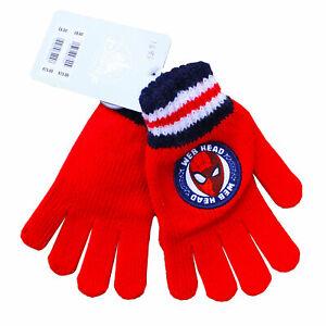 Disney Marvel Spider-Man Boys Winter Gloves Childrens Kids ShopDisney Store Gift