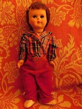 Vintage Early Ratti Hard Plastic Doll Made In Italy