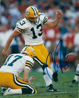 PACKERS Chris Jacke signed photo 8x10 AUTO Super Bowl XXXI Autographed SB 31
