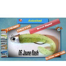 COMBO ASTUSHAD JAUNE YELLOW shad souple anti accroche texan