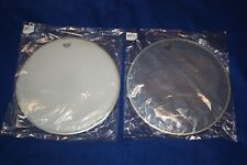 "Remo Ambassador Encore Snare Drum Kit Head Set 14"" Coated Top + 14"" Hazy Bottom"