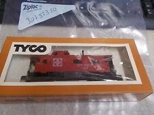 OEM Tyco HO Scale 8-Wheel Caboose Santa Fe 327J:350