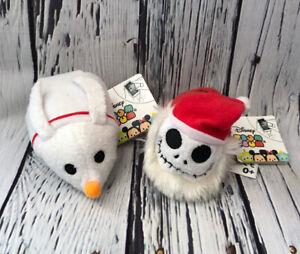 NEW Disney Nightmare Before Christmas Tsum Tsum Plush Soft Toy Jack Zero