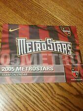 Rare Metrostars 2005 Calendar Amado Guevara Eddie Gaven New York Red Bulls