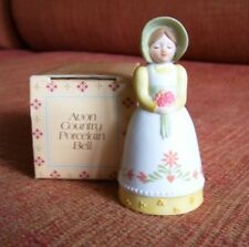 Avon 1985 Country Porcelain Bell Nos w Box