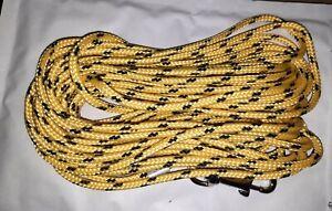 STRONG LINE Schleppleine Wasserleine Schwimmleine SOMMER AKTION gelb-schwarz NEU