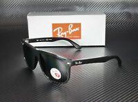 RAY BAN RB4147 601 58 Black Green Polarized 56 mm Men's Sunglasses