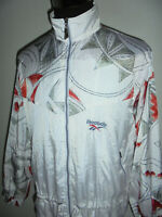 vintage 80`s REEBOK Nylon Jacke Sportjacke glanz jacket shiny 80er oldschool L
