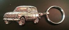 RENAULT Keyring R4 Silver Relief - Mass Vehicle 1 15/16x1 1/8in
