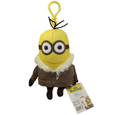 Minions Movie - Plush Backpack Clip - PARKA KEVIN (6 inch) - New