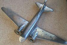 Vintage Military Plane Model 18,5 cm. x 26,5 cm. cast aluminum